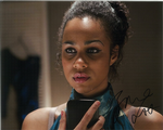 Zawe Ashton,  Doctor Who, 10 x 8 Genuine SignedAutograph 10557